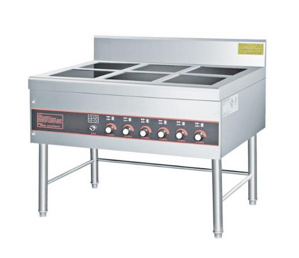 深圳鑫嘉华厨房设备,供应电磁六头矮仔炉