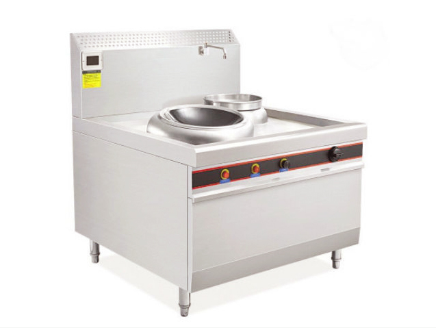 深圳厨房设备|单尾撑小炒炉|商用电磁小锅炉