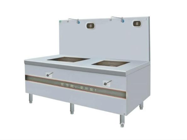 深圳鑫嘉华厨房设备厂家,供应电磁双头矮仔炉