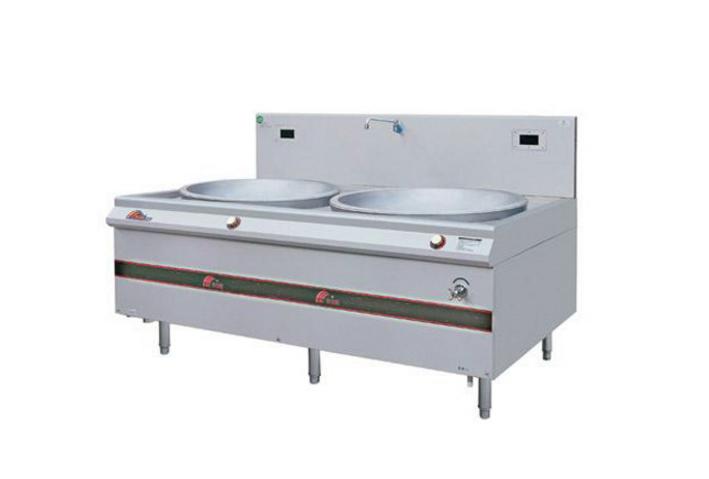 深圳厨具设备公司|供应电磁双头大炒炉