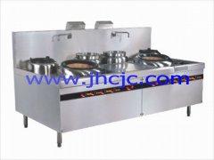 深圳厨房设备中式炉具丨潮式双炒双温炒炉