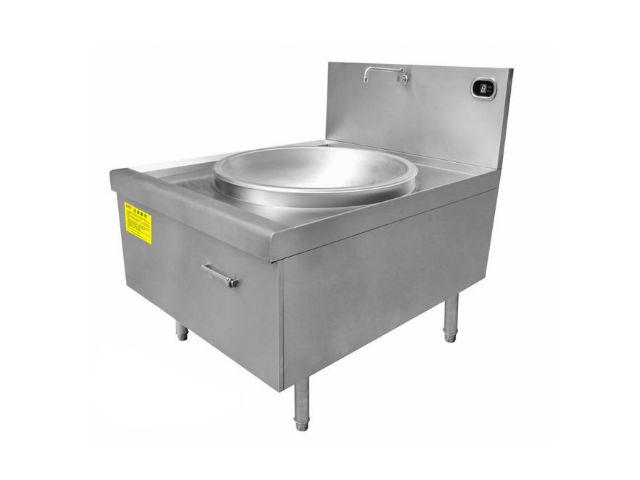 中式电磁大锅灶|商用电磁炒锅
